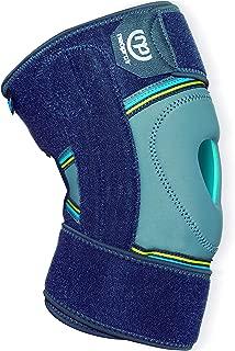 PRIM NEOPRAIR   Rodillera envolvente   Rótula Abierta   Dolor articular/Bursitis/Tendinitis   Neopreno Tanspirable   Uso deportivo  Talla única   Color Gris y Azul