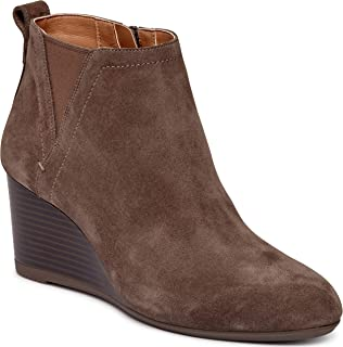 Women's Parkwood Paloma Wedge Ankle Boots - Ladies Booties with Concealed Orthotic Arch Support