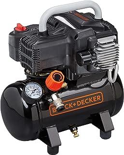 Black+Decker 195/6 NK 空气压缩机, 230 V, 黑色, BD 195/6/NK