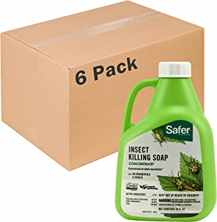 Safer Brand Insect Killing Soap 16oz Concentrate - 6 Pack 5118-6