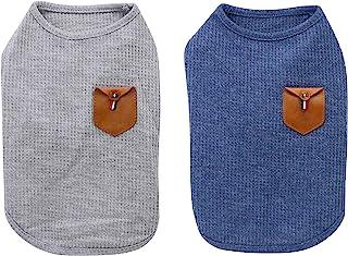 YAODHAOD Camiseta Minimalista para Perros, Ropa para Perros