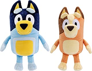"Bluey's Dad 16"" (Bandit) & Mum 14"" (Chilli) - 2 Pack Plush Bundle"