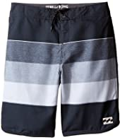Billabong Kids - 73 OG Stripe Boardshorts (Big Kids)