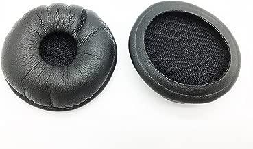 Leatherette Ear Pads 87229-01 by AvimaBasics | Compatible with Plantronics Supra SupraPlus W740 W745 W440 W445 HW251 CS540 BlueParrott B250-XT XTS VXI - Premium Quality Cushions Earpads - 2pcs