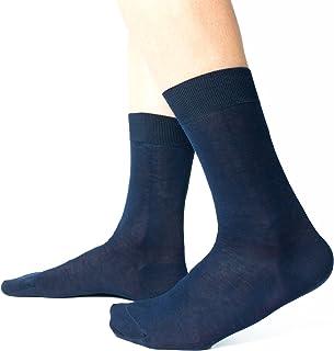Ciocca Calze uomo corte, pregiato cotone 100% FILO SCOZIA - 6 Paia - tre taglie calze