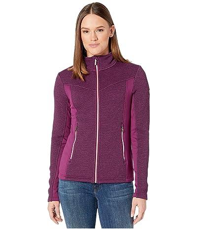 Spyder Encore Full Zip Fleece Jacket (Raisin) Women