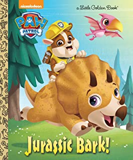 Jurassic Bark! (PAW Patrol) (Little Golden Book)