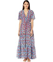 Stella McCartney - Pansy Print Long Dress