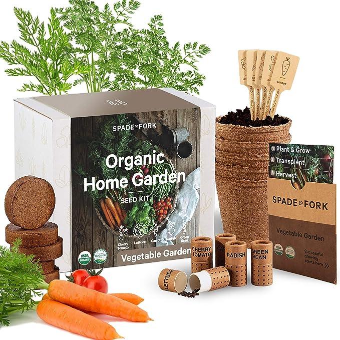 Indoor Vegetable Garden Starter Kit