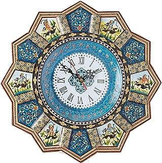 LPUK Reloj de pared Khatam de lujo Colección Sunclock Serie