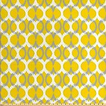 Best yellow retro fabric Reviews