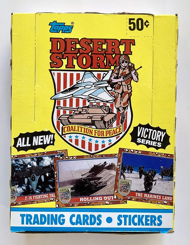 Desert Storm Koalition für Peace Trading Karten-Box 36Zhlen