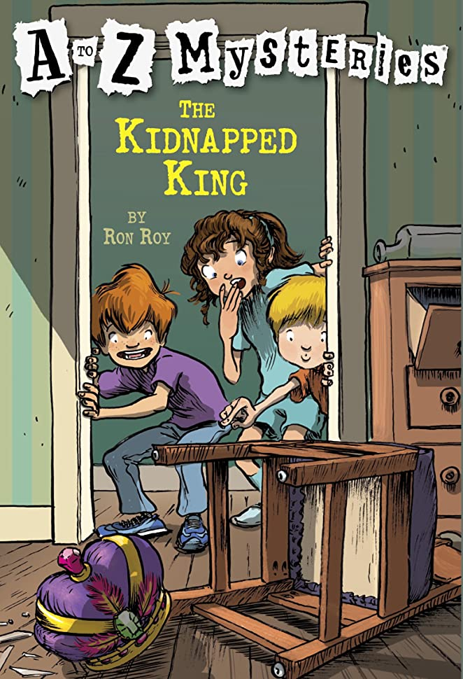 ミネラル少年チーズA to Z Mysteries: The Kidnapped King (English Edition)
