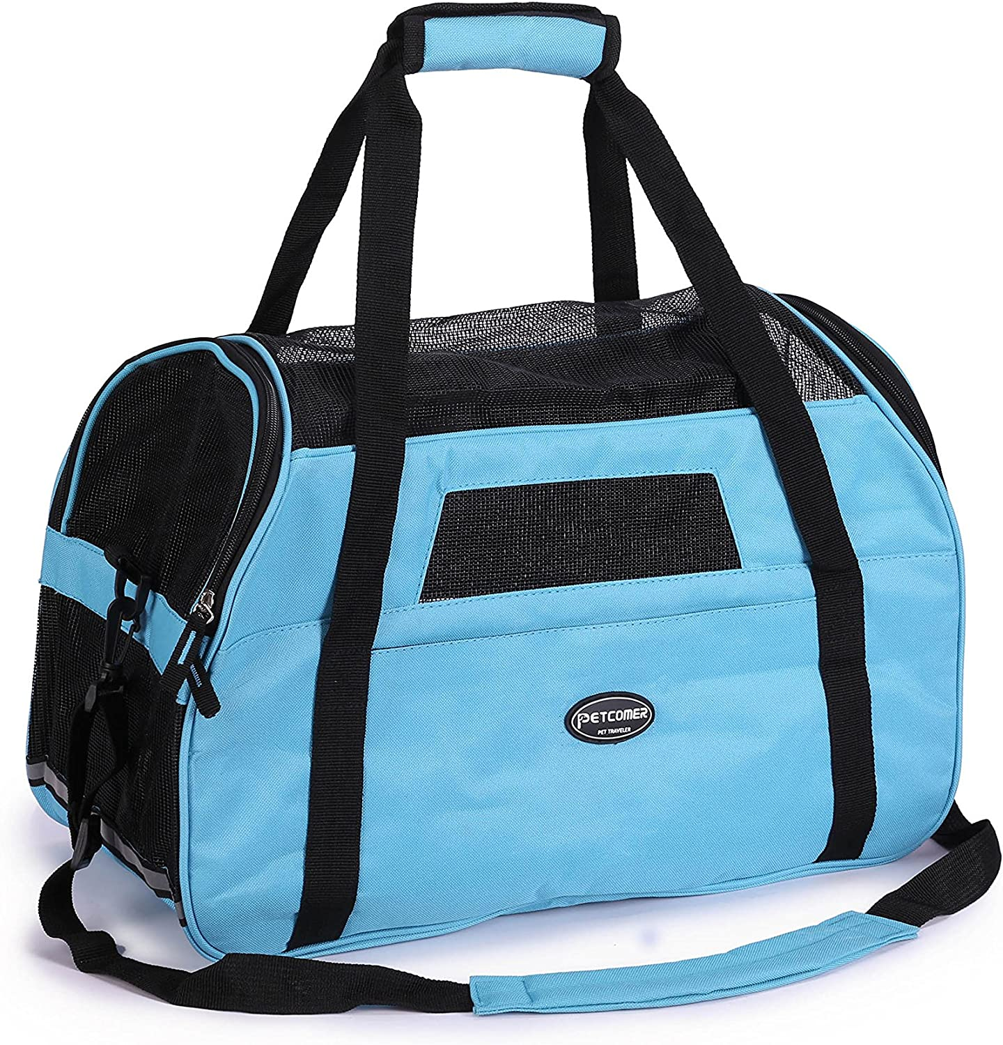 7c1b113404c3 Carrier Pet for Comfort Mat with Bag Sided Soft Tote Travel Approved ...