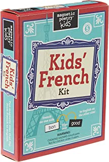 Magnetic Poetry French Kit for Kids
