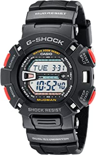 G-Shock Quartz Watch with Resin Strap, Black (Model: G9000-1V)