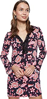 GUESS Women's W74K93W96R0 Guess Straight Dress for Women - Multi Color