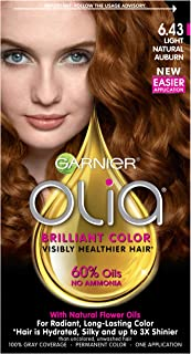 Garnier Olia Ammonia Free Hair Color [6.43] Light Natural Auburn 1 ea