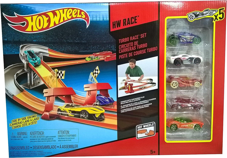 hasta 60% de descuento Mattel BHP99 Hot wheels - Circuito de Cochereras Cochereras Cochereras Turbo  punto de venta barato