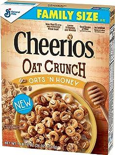 Cheerios Oat Crunch Oats & Honey Breakfast Cereal, 26 ounces,