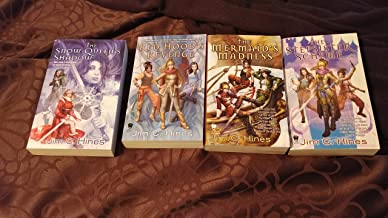 Jim C. Hines The Princess Series The Snow Queen's Shadow, The Stepsister Scheme, Red Hood's Revenge, The Mermaids Madness