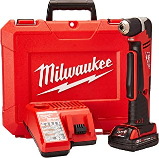 Milwaukee Electric Tool 2615-21CT Right Angle Cordless Drill Kit, 18 V, Li-Ion, 3/8