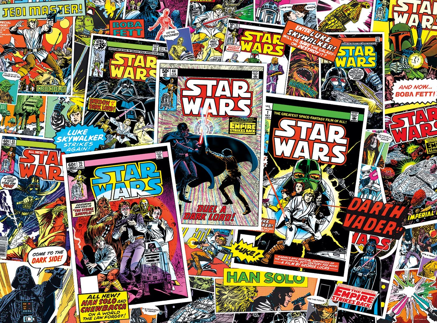 Buffalo Games Star Wars Collage: Classic Comic - 1000 Piec A surprise price is realized Fresno Mall Books