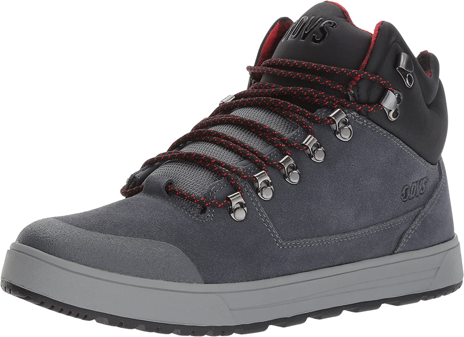 DVS Men's Vanguard Snow Boot, Charcoal Suede Ferguson, 10 Medium US