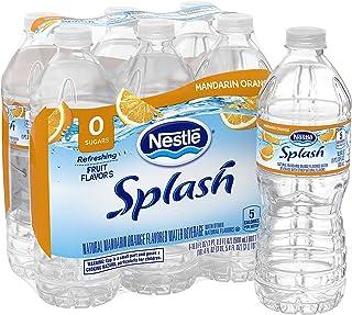 Nestle Water Nestle Pure Life Splash Flavored Water, Mandarin Orange, 16.9 oz