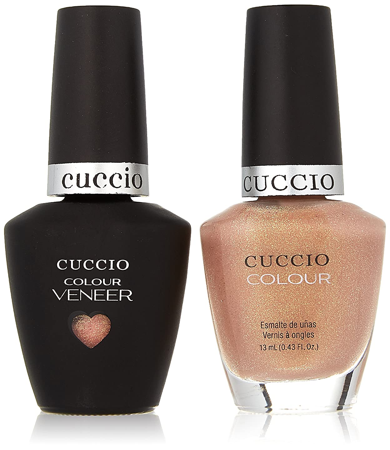 気難しい最後の誰でもCuccio MatchMakers Veneer & Lacquer - Los Angeles Luscious - 0.43oz / 13ml Each