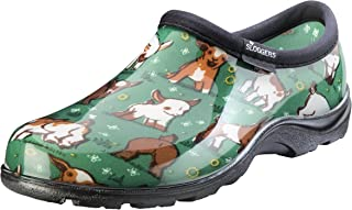 Sloggers Women's Waterproof  Rain and Garden Shoe with Comfort Insole, Goats Grass Green, Size 8, Style 5118GOGN08