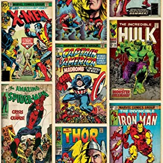 Graham & Brown Marvel Comics Action Heroes Wallpaper 52cm x 10m from