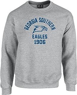 NCAA Mascot Block Arch Crew Neck Sweatshirt