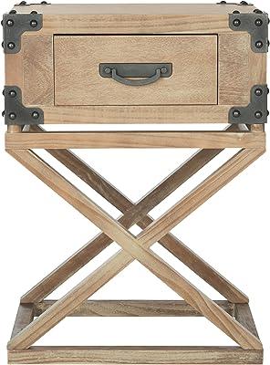 Amazon Com Crown Mark 7710 Pierce Chairside Table