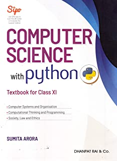 Computer Science with python Textbook for Class 11