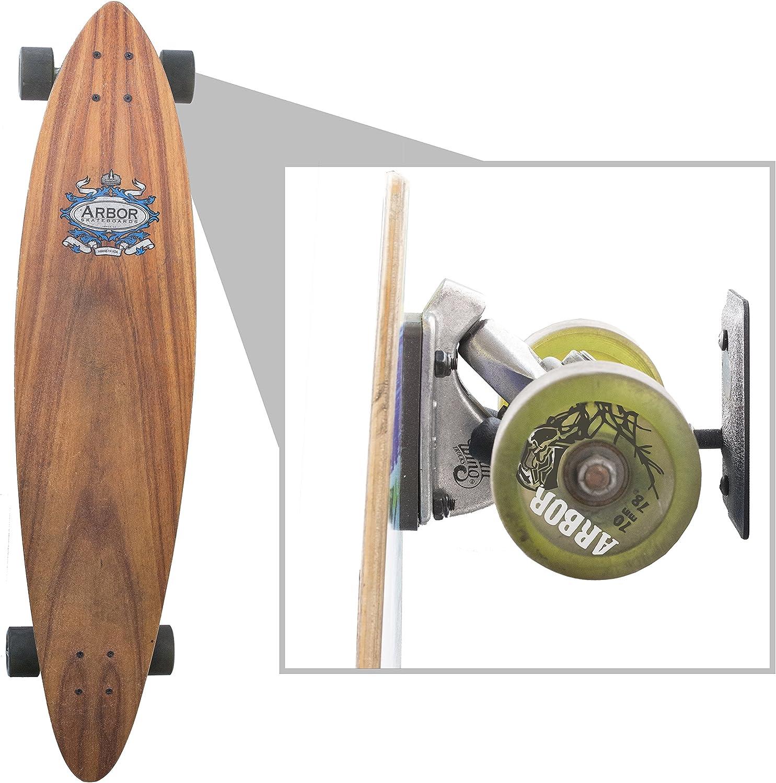 US2U Displays Skateboard Wall Hanger or Longboard Wall Mount US06