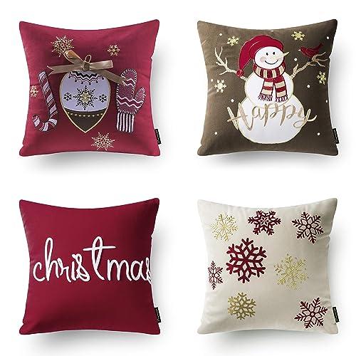 Christmas Pillows.Small Christmas Pillows Amazon Com
