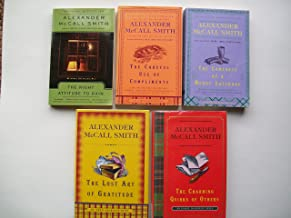 Isabel Dalhousie Series (Partial set of 5 Books) The Right Attitude to Rain; The Careful Use of Compliments; The Comforts of a Muddy Saturday; The Lost Art of Gratitiude; The Charming Quirks of Others