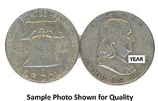 1950 P Franklin Half Dollar Avg Circ
