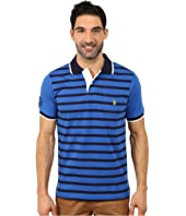 U.S. POLO ASSN. - Striped Jersey Polo