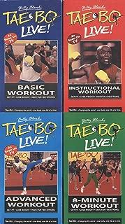Billy Blanks' TaeBo Live! Basic Workout / Instructional Workout / Advanced Workout / 8-Minute Workout