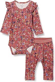 NAME IT Child Leggings Blumenprint Strampler und