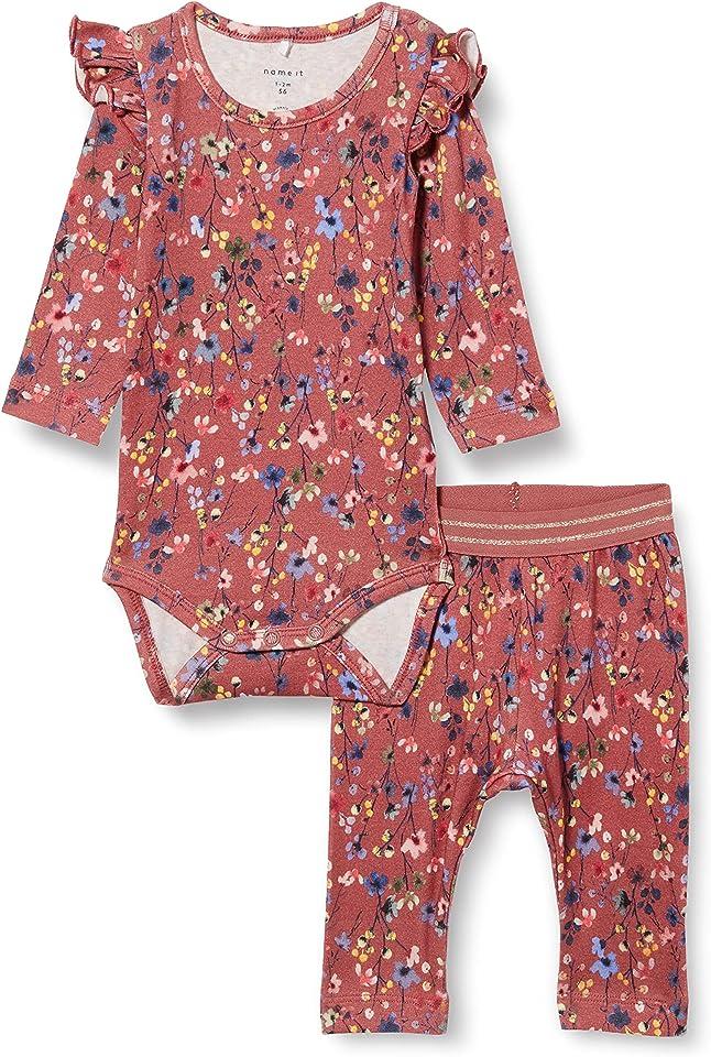 Child Leggings Blumenprint Strampler und