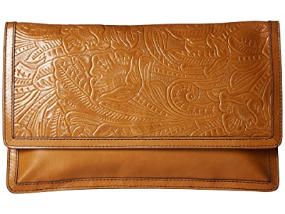 Hobo Crest (Embossed Honey) Clutch Handbags