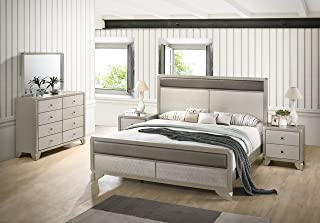 Amazon.com: Silver - Bedroom Sets / Bedroom Furniture: Home & Kitchen