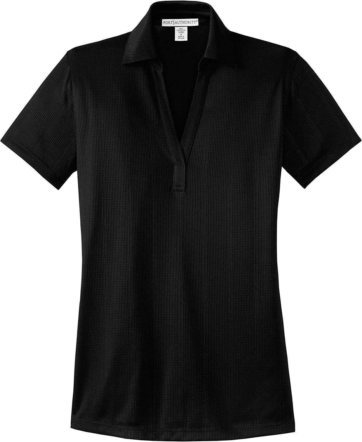 Port Authority L528 - Women's Short Sleeve Open Placket Breathable Polyester .