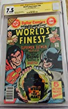 World's Finest Comics #244 CGC CERTIFIED 7.5 VF- May 1977, CGC SIGNATURE SERIES SIGNED BY JOSE LUIS GARCIA - LOPEZ