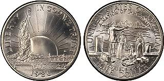 1986 liberty half dollar uncirculated