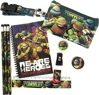 Nickelodeon's Teenage Mutant Ninja Turtles 10 Piece Stationery Set TMNT