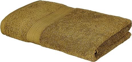 Amazon Brand - Solimo 100% Cotton Bath Towel, 500 GSM (Olive Green)